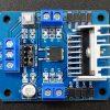 L298N Dual H-Bridge Motor Control Module - Top