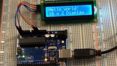 LCD1602 I2C Blue - Operating
