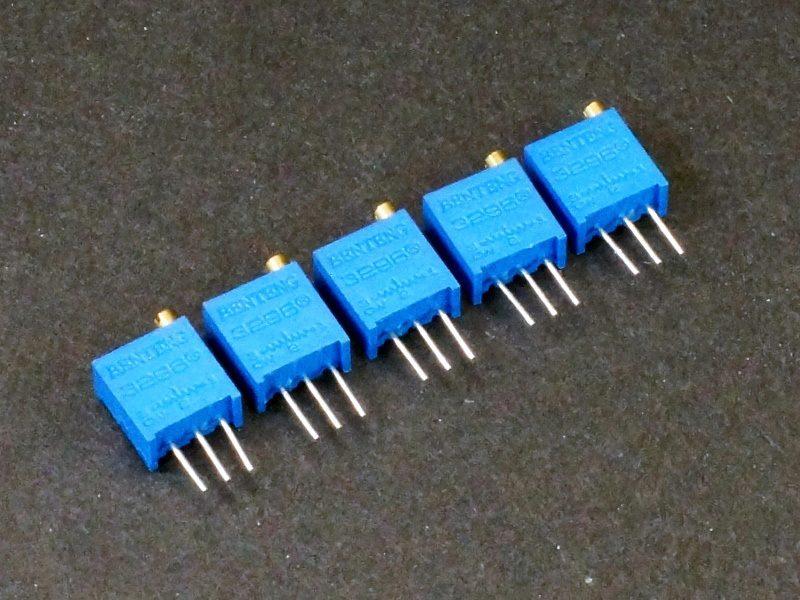 Potentiometer 10K 20-Turn - 5 Pack