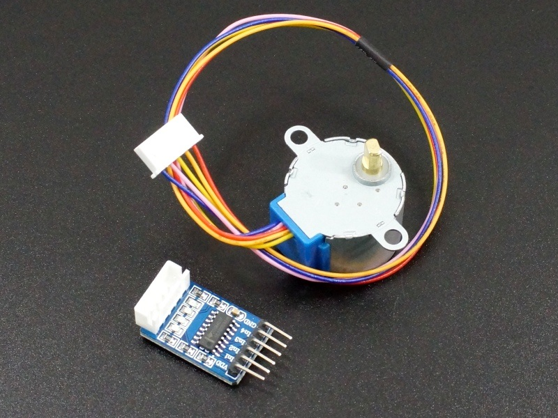 Stepper Motor with ULN2003A Driver