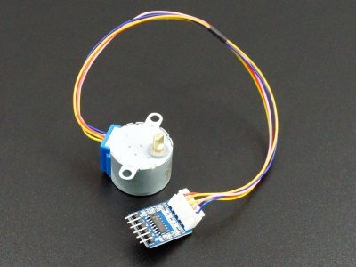 Stepper Motor with ULN2003A Driver Connected