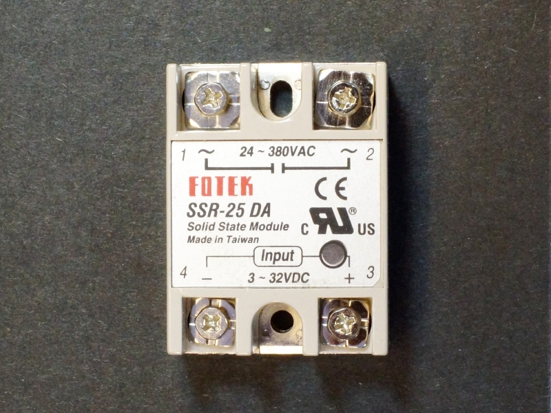 Inferior Counterfeit FOTEK SSR-25 Solid State Relays on the Market