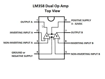 LM358 Block Diagram