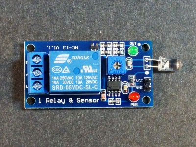 Photosensitive Relay Module 5V - Top