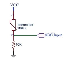 Thermistor 10K Schematic