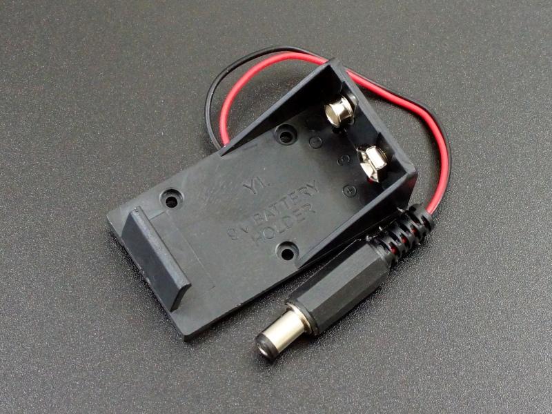 Battery Holder 1x9V