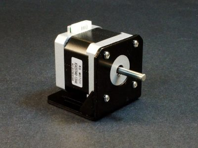 NEMA-17 Stepper Motor - In Optional Mount