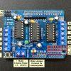 L293D V1 Motor Driver Shield - Connections