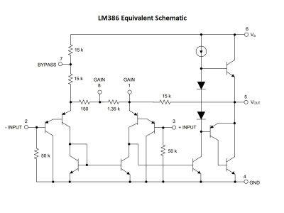 LM386 Schematic