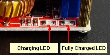 DC-DC Step Down CC & CV Module - Indicator LEDs