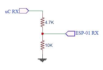 ESP-01 Level Shifter