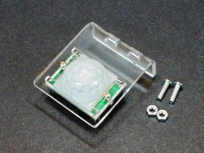 HC-SR501 PIR Motion Sensing Module Mounting Bracket - Assembled
