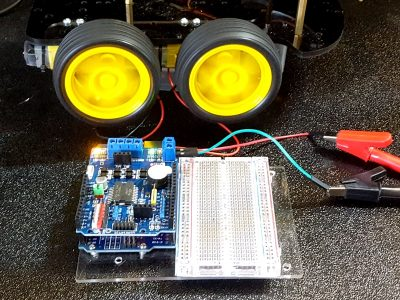 L298 Motor Driver Shield - In Test