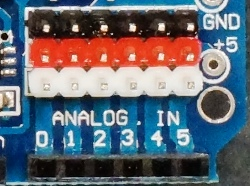 L298P Motor Driver Shield - Analog & Digital Sensor Inputs