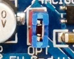 L298P Motor Driver Shield - OPT Power Jumper