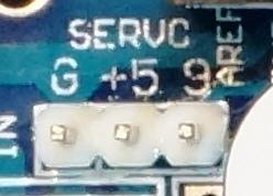 L298P Motor Driver Shield - Servo Output