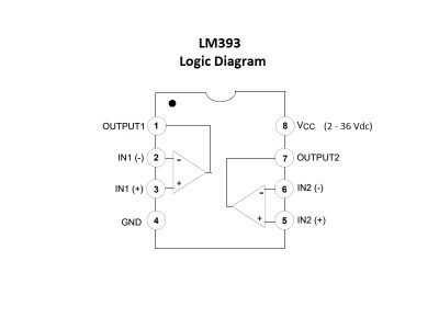 LM393 Block Diagram