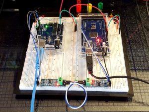 MAX485 Module Test Setup