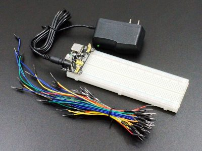Solderless Breadboard Starter Kit - Hobby Line - Installed
