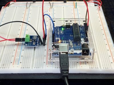 INA219 DC Current Sensor Module - Test Setup