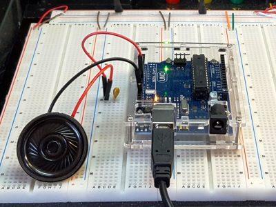 Speaker 36mm 0.5W 8 Ohm - Testing