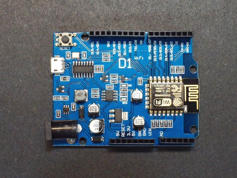 ESP8266 D1 WiFI Processor with Uno Footprint