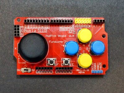 Funduino Joystick Shield - Top