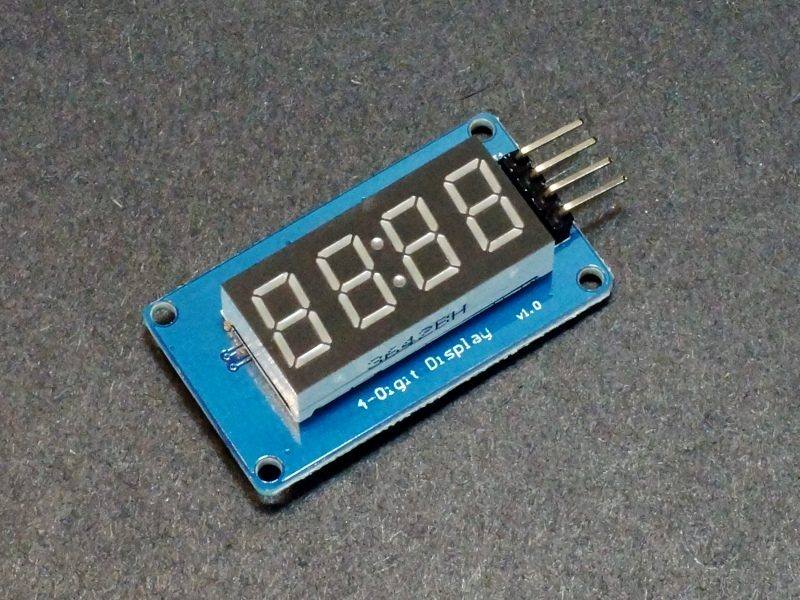 TM1637 4-Digit 0,36 Red Display