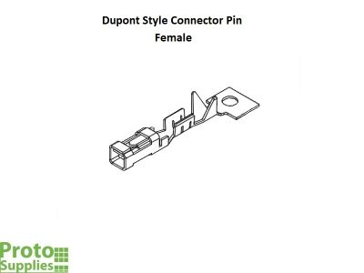 Dupont Style Connector Pin Female - Details