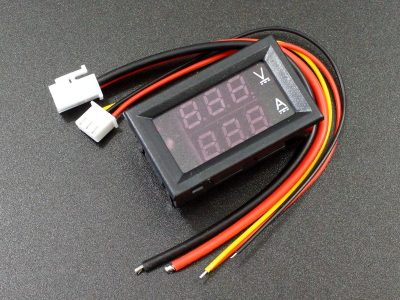 Dual Display 100V 10A Panel Meter