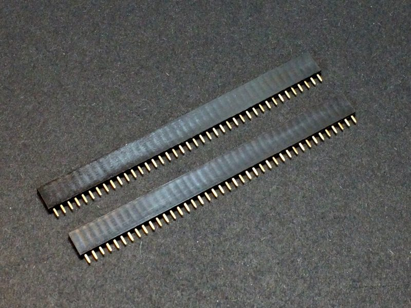 Header Female 1 x 40 Single-Row 2-Pack