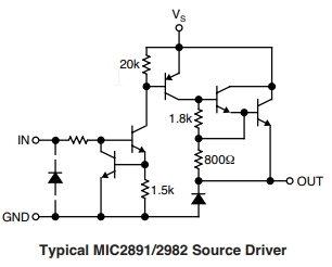 MIC2981 Schematic Diagram