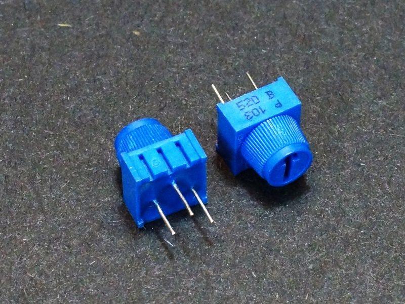 Potentiometer 10K 1-Turn - 2 Pack