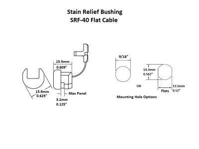 Strain Relief SRF-40 Details