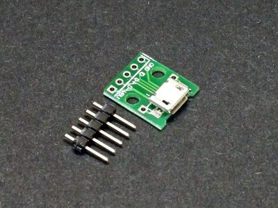 USB Type Micro-B to DIP Adapter