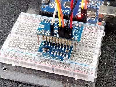 ADS1115 4-channel 16-bit ADC Module - Test Fixture