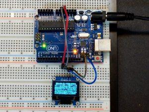 "OLED 0.96"" 128x64 I2C Blue - Setup"