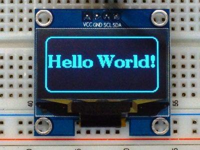 OLED 1.3 Blue I2C - Display