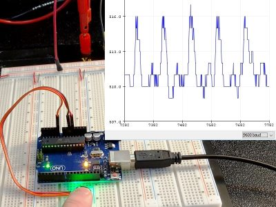 Pulse Sensor - With Waveform