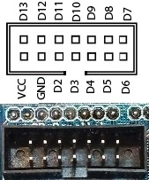 Sensor Shield V5 - LCD Parallel Connector