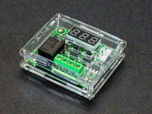 W1209 Temperature Controller Case - Assembled