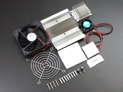 Thermoelectric Peltier TEC1-12706 Kit Components