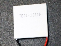 Thermoelectric Peltier TEC1-12706 Kit - TEC1 Printed Side Up