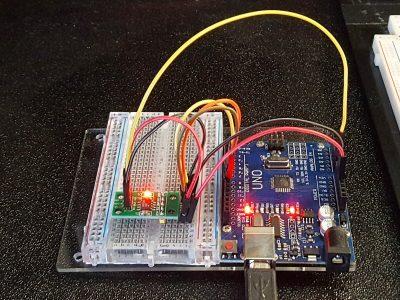 X9C103 Digital Potentiometer - In Operation