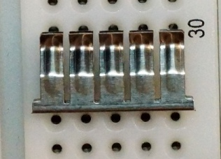 Breadboard Contact Fully Embossed Example