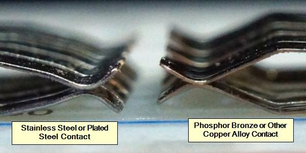 Breadboard Contact Material Comparison