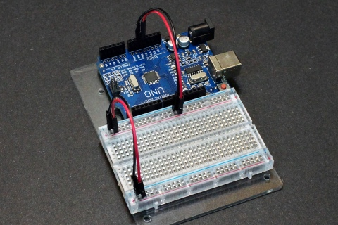 Breadboard Power From Microcontroller