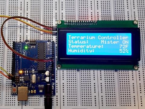 LCD2004 I2C Blue