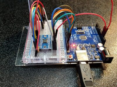 TXS0108E 8-Ch Logic Level Shifter - In Use With RFID Reader