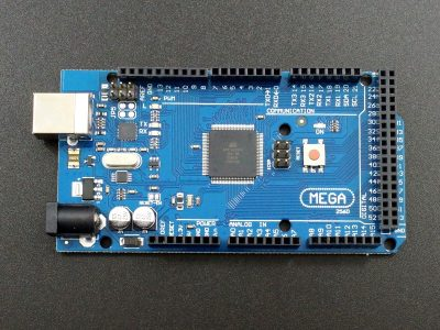 Arduino Compatible Mega 2560 R3 with ATMEGA16U2 USB - Top